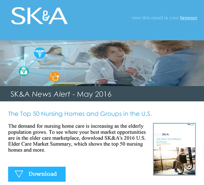 Top 50 Nursing Homes and Groups