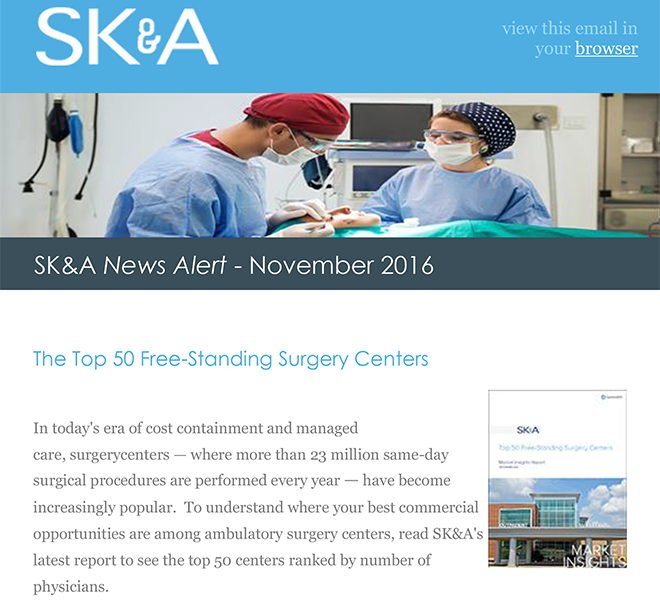 Top 50 Free Standing Surgery Centers