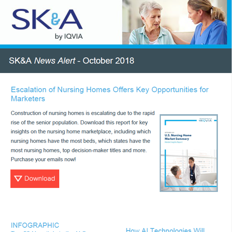 Escalation of Nursing Homes Offers Key Opportunities for Marketers