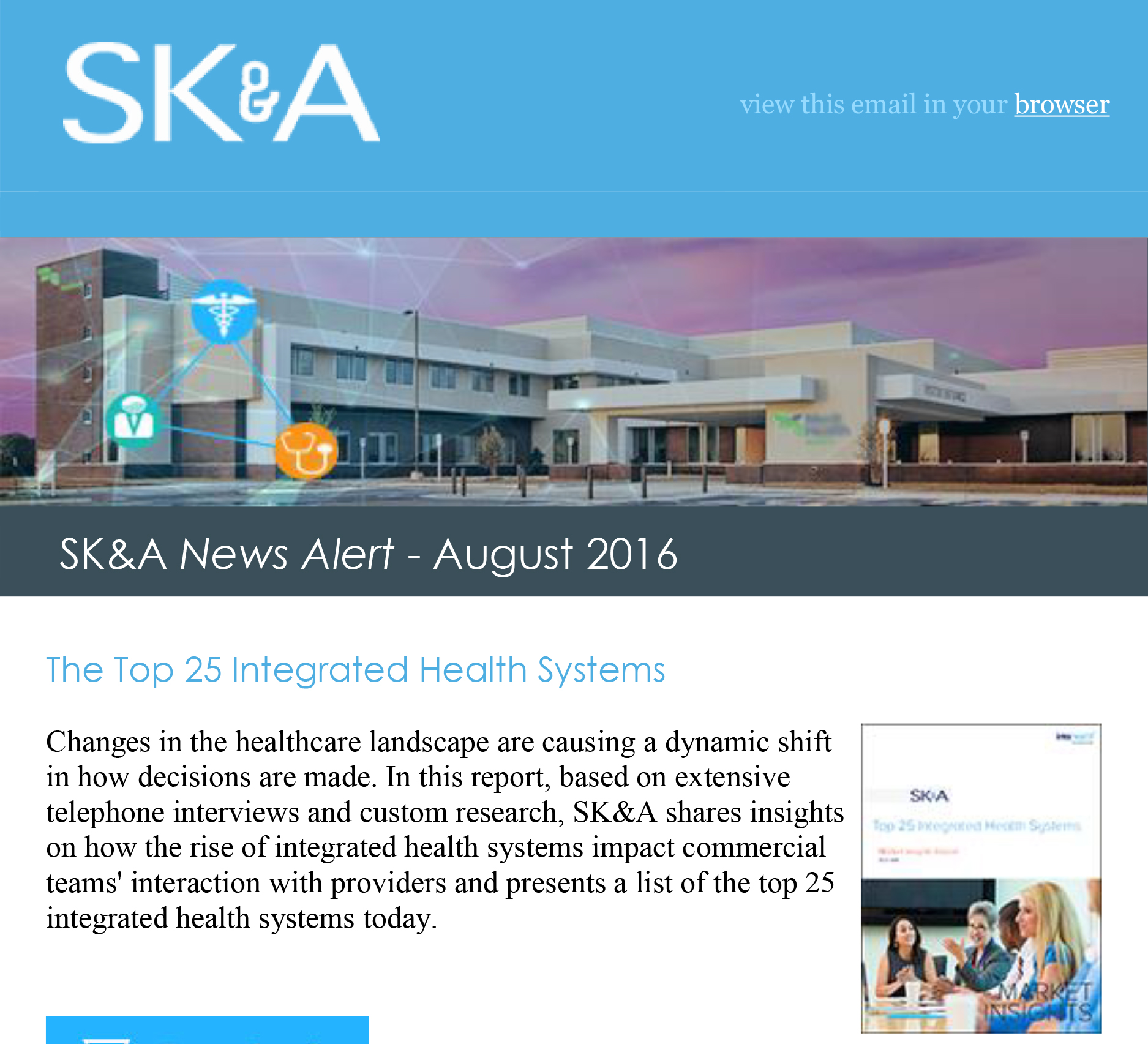 Top 25 Integrated Health Systems