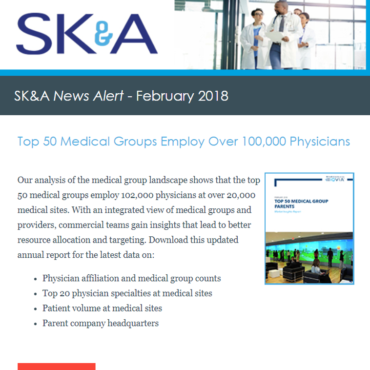 Top 50 Medical Groups Employ Over 100,000 Physicians