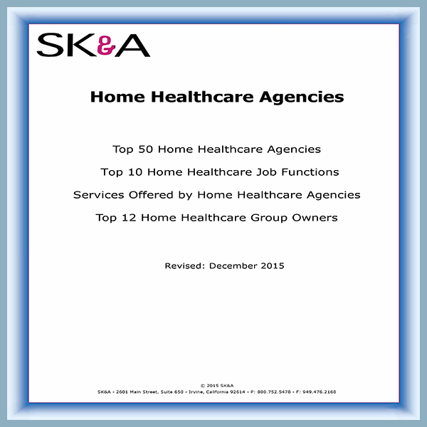 Top 50 Home Healthcare Agencies