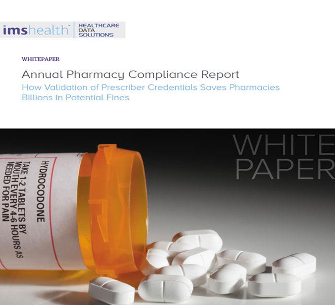 Annual pharmacy compliance report