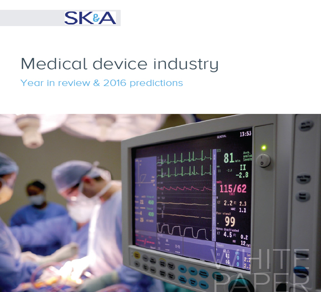 Medical device industry year in review